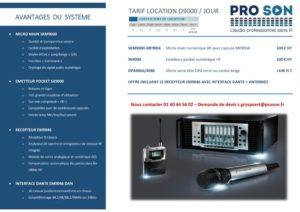 Présentation D9000
