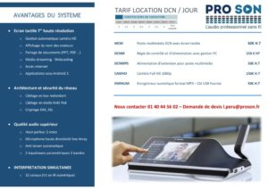 Présentation DCN Multimedia